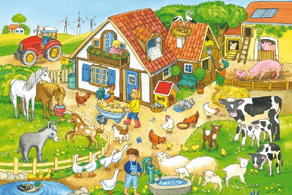 Wiosna na wsi- Zuchy
